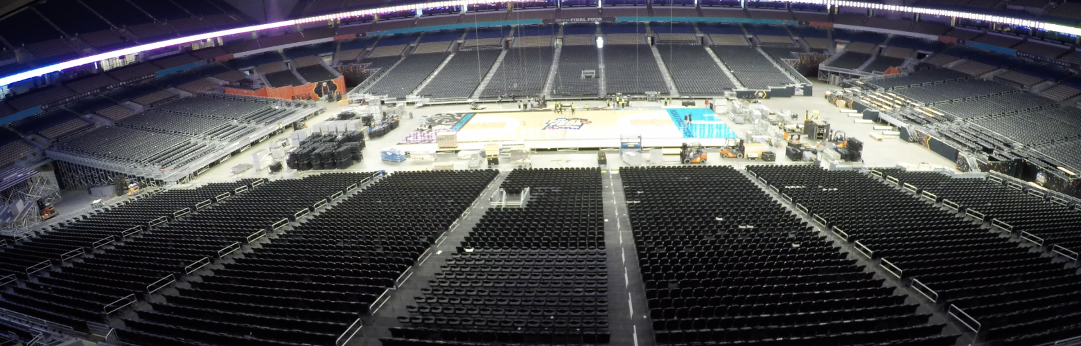 NCAA Final Four Installation